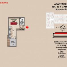 Garsoniera 38 mp - Garsoniera de vanzare, An constructie: 2017, Mansarda
