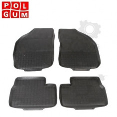 Covorase auto Ford Focus 1 I DA (1998 - 2004) POLGUM cod PG1710C / PG1720C, Cauciuc