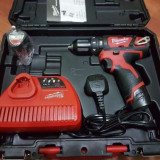 Bormasina cu percutie Milwaukee M12 BPD-202C(2016)/milwaukee