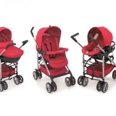Carucior copii 3 in 1 Chicco Trio Sprint - rosu