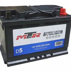 Acumulator Baterie auto Rombat MTR Dynamic L3 66 Ah 540A cod 566002054, 60 - 80