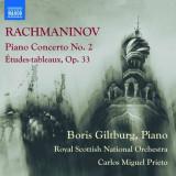 S. Rachmaninov - Piano Concerto No.2/Etude ( 1 CD ) - Muzica Clasica