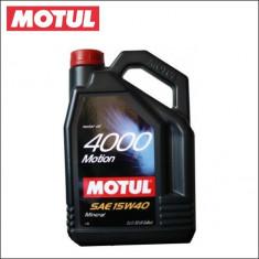 Ulei motor MOTUL 4000 MOTION 15W40 5L cod 4000 MOTION 15W40 5L