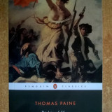 Thomas Paine - Rights of Man - Carte in engleza