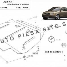 Scut metalic cutie viteze automata Audi A4 B6 cu motor in 6 cilindrii fabricat intre 2001 - 2005 cod APS-00, 005 - Scut motor auto