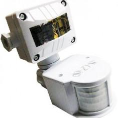 Senzor Miscare/Prezenta 180 grade JQ-35 Alb - Accesoriu instalatie electrica