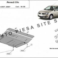 Scut metalic motor Renault Clio 2 II fabricat intre 1997-2007 cod APS - 19, 130 - Scut motor auto