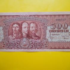 ROMANIA 500 LEI 1949 -X FINE/ AUNC - Bancnota romaneasca