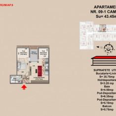 Garsoniera - Garsoniera de vanzare, 55 mp, An constructie: 2017, Mansarda