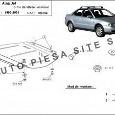 Scut metalic cutie viteze manuala Audi A4 B5 cu motor in 4 cilindrii fabricat intre 1995 - 2001 cod APS- 00, 004 - Scut motor auto