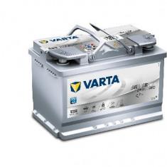 Acumulator baterie auto VARTA Silver Dynamic 70 Ah 760A tip AGM (pentru sistem START/STOP) cod 570901076D852, 60 - 80