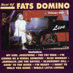 Fats Domino - Best of Live 1 ( 1 CD ) - Muzica R&B