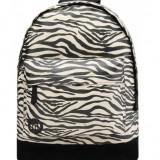 Rucsac Mi-Pac Canvas Zebra Black-White2 ( Masura Universala) - Rucsac dama