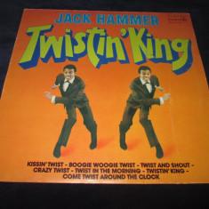 Jack Hammer - Twistin' King _ vinyl,LP _ Durium (Italia), VINIL
