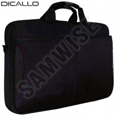 Geanta Dicallo, Laptop, Notebook 15.6 inch LLM0316 Black