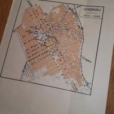 HARTA-PLAN CHISINAU, 1939