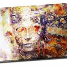 Tablou pe aluminiu striat Fearless Goddess