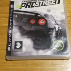PS3 Need for speed Prostreet - joc original by WADDER - Jocuri PS3 Ea Games, Curse auto-moto, 3+, Multiplayer