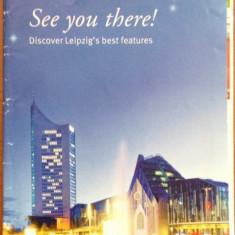 Leipzig - Harta turistica