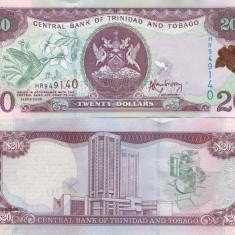 Trinidad & Tobago 20 Dollars 2006 UNC