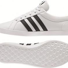 Adidasi dama Adidas ADRIA PS 3S W LEA Originali, Piele Masura 36 - Adidasi dama Reebok, Culoare: Alb, Piele naturala