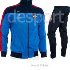 Trening BARCELONA - Bluza si pantaloni conici - Modele noi - Pret Special 1208 - Trening barbati, Marime: S, M, XXL, Culoare: Din imagine