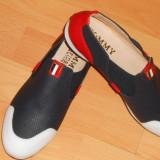 PANTOFI FIRMA/LOGO METALIC/NEW MODEL/CALITATE GARANTATA - Pantof dama, Culoare: Din imagine, Marime: 38, Cu talpa joasa