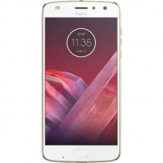 Smartphone Motorola Moto Z2 Play XT1710 64GB Dual Sim 4G Gold - Telefon Motorola