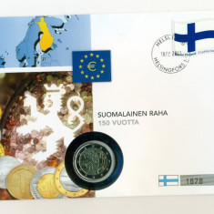 FINLANDA - FDC - 2 Euro 2010 - 50 Lei, Europa, Organizatii internationale