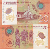 Nicaragua 20 Cordobas 2014 UNC