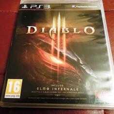 Diablo 3, PS3, original! Alte sute de jocuri! - Jocuri PS3 Sega, Actiune, 18+, Multiplayer