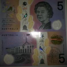 Australia 5 Dollars 2016 UNC