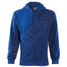Hanorac de barbati Trendy Zipper (Culoare: Albastru regal, Marime: XL, Pentru: Barbati)