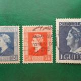 Olanda 1946 regina Wilhelmina - timbre stampilate