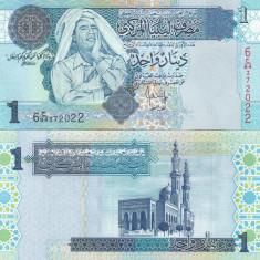 Libia 1 Dinar 2014 UNC - bancnota africa