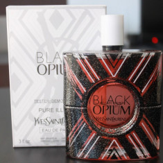 Parfum TESTER original Yves Saint Laurent Black Opium Pure Illusion 90 ml, Yves Saint Laurent