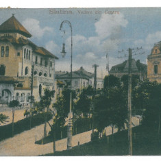 2042 - Olt, SLATINA - old postcard - used - 1921
