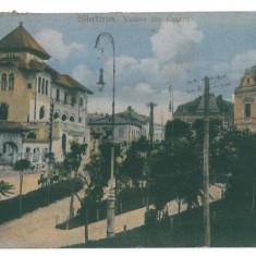 2042 - Olt, SLATINA - old postcard - used - 1921 - Carte Postala Oltenia dupa 1918, Circulata, Printata