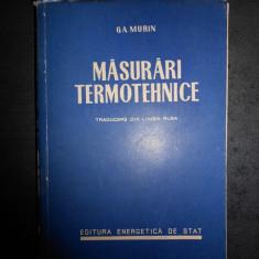 G.A. MURIN - MASURARI TERMOTEHNICE