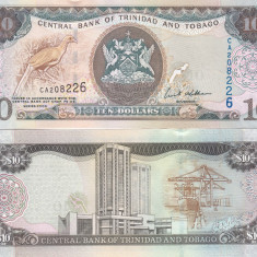 Trinidad & Tobago 10 Dollars 2006 UNC