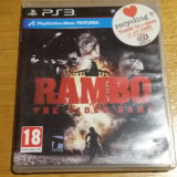 PS3 Rambo The Videogame - joc original by WADDER, Actiune, 18+, Single player