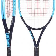 Wilson Ultra 100UL 2018 racheta tenis L2 - Racheta tenis de camp Wilson, SemiPro, Adulti, Aluminiu/Grafit