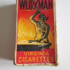 Pachet colectie tigari WORKMAN din anii 50 - Pachet tigari
