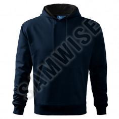 Hanorac de barbaţi Hooded Sweater (Culoare: Albastru marin, Marime: L, Pentru: Barbati) - Hanorac barbati