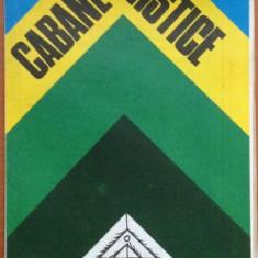 Harta turistica - Cabane turistice