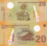 Nicaragua 20 Cordobas 2007 UNC Polimer