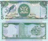 Trinidad & Tobago 5 Dollar 2015 UNC