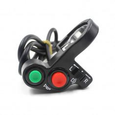 Comutator / Intrerupator ghidon Moto - claxon, lumini si semnalizare, tip II - Intrerupator Moto