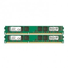 Kit Memorie 16GB Kingston, DDR3, PC3-10600, Frecventa 1333MHz, KVR13N9K2/16 - Memorie RAM