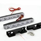 Lumini de zi 2 x 6LED Universal Auto - DRL